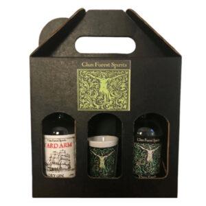 Clun Forest Spirits Gift Set Craft Gin Shropshire