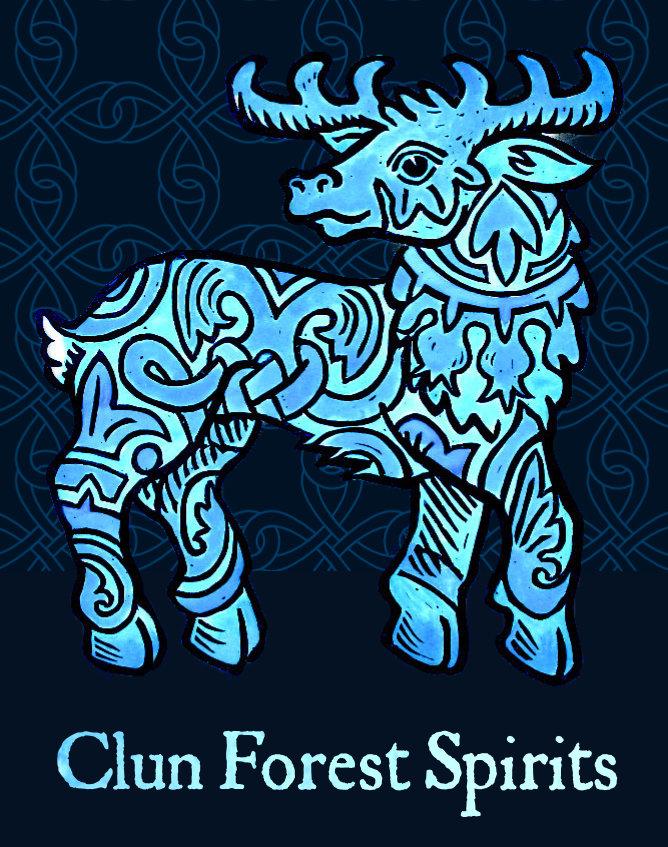 Craft Gin Clun Shropshire stag