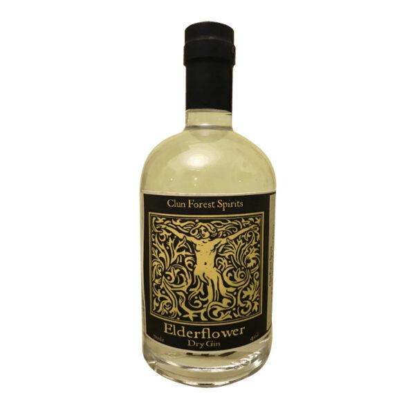 Elderflower craft gin Shropshire