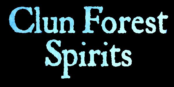 clun forest spirits craft gin shropshire logo BLUE